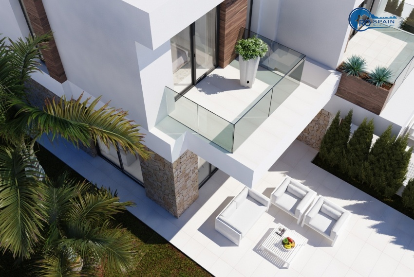 SEAVIEW - VILLAS PAREADAS - RENDER VISTA AEREA 2