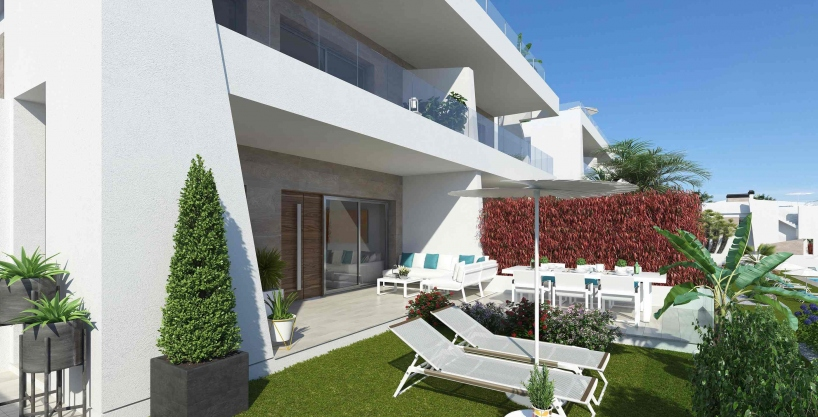 Modern apartments with sea views