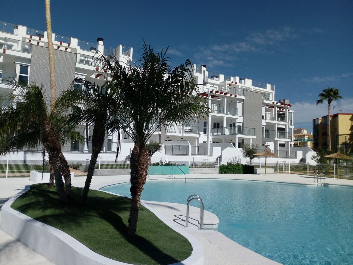 Moderne appartementen in Denia
