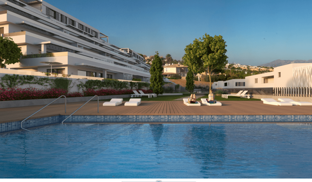 Apartments with sea views in Finestrat