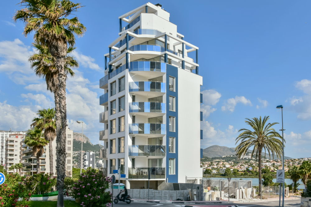 Moderne appartementen in Calpe