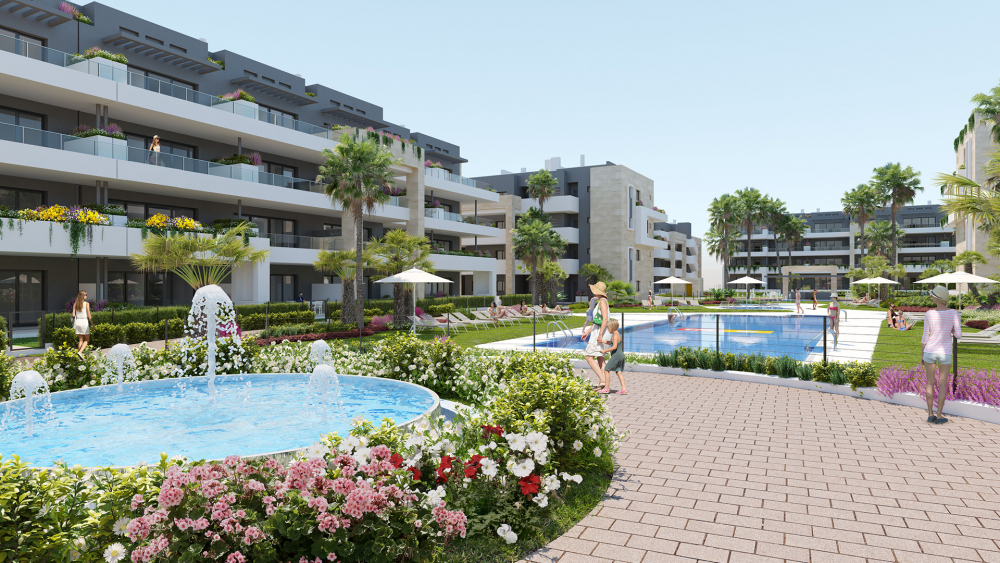 Appartementen in Playa Flamenca