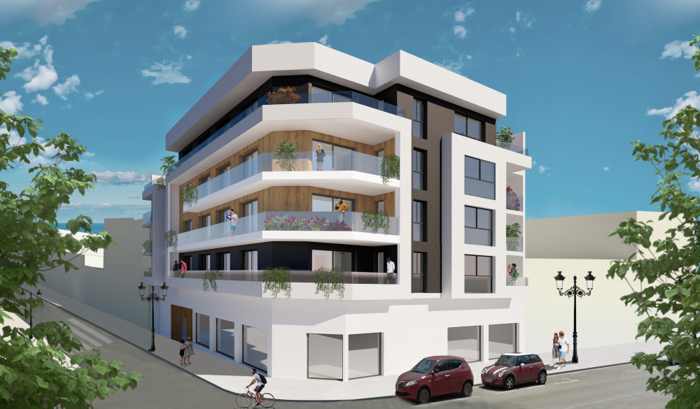 Modern apartment 500 m from the sea in Guardamar
